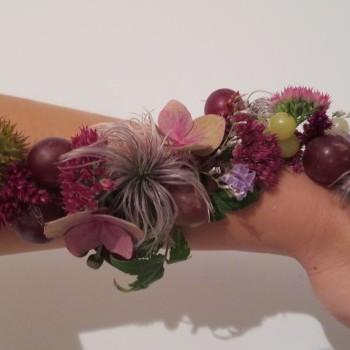 Flower Kamelia - Żywy tatuaż